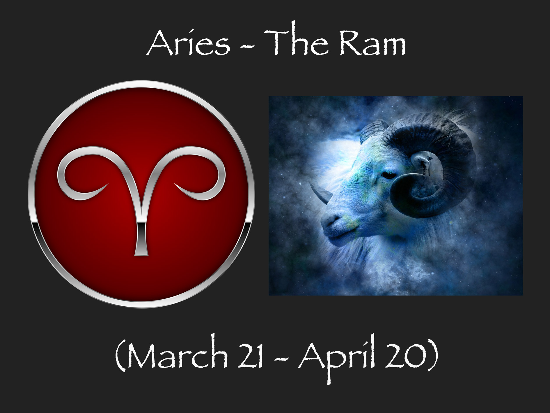 Aries - astrological sign