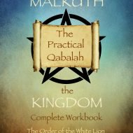 Malkuth - the Kingdom Qabalah front cover
