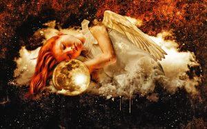 Cloud Girl Angel Moon Young