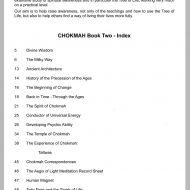 Chokmah workbook two sample page
