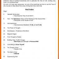 Hod workbook sample pages