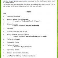 Netzach workbook sample pages